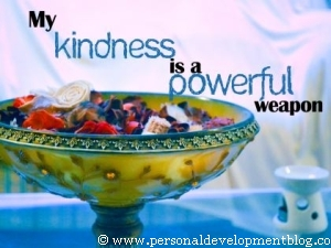 My Kindness Is A Powerful Weapon | Personal Development Inspirational Wallpaper | Inspirational Poster | Motivational Poster | Motivational Wallpaper