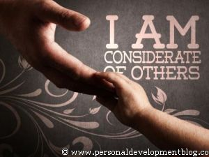 I Am Considerate Of Others Inspirational Wallpaper | Personal Development Inspirational Wallpaper | Inspirational Poster | Motivational Poster | Motivational Wallpaper