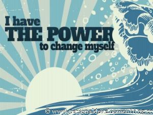 I Have The Power To Change Myself Inspirational Wallpaper | Personal Development Inspirational Wallpaper | Inspirational Poster | Motivational Poster | Motivational Wallpaper