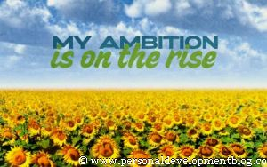 My Ambition Is On The Rise Inspirational Wallpaper | Personal Development Inspirational Wallpaper | Inspirational Poster | Motivational Poster | Motivational Wallpaper