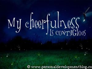 My Cheerfulness Is Contagious Inspirational Wallpaper | Personal Development Inspirational Wallpaper | Inspirational Poster | Motivational Poster | Motivational Wallpaper