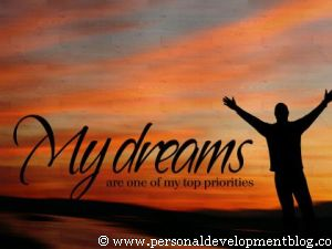 My Dreams Are One Of My Top Priorities Inspirational Wallpaper | Personal Development Inspirational Wallpaper | Inspirational Poster | Motivational Poster | Motivational Wallpaper