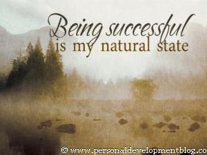 Being Successful Is My Natural State Inspirational Wallpaper | Personal Development Inspirational Wallpaper | Inspirational Poster | Motivational Poster | Motivational Wallpaper