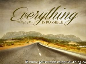 Everything Is Possible Inspirational Wallpaper | Personal Development Inspirational Wallpaper | Inspirational Poster | Motivational Poster | Motivational Wallpaper