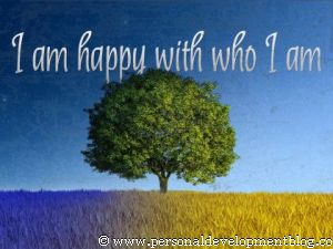I Am Happy With Who I Am Inspirational Wallpaper | Personal Development Inspirational Wallpaper | Inspirational Poster | Motivational Poster | Motivational Wallpaper