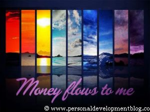 Money Flows To Me Inspirational Wallpaper | Personal Development Inspirational Wallpaper | Inspirational Poster | Motivational Poster | Motivational Wallpaper