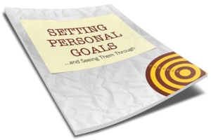 Setting Personal Goals | Personal Development Ebook | Personal Development Blog