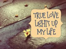 True Love Lights Up My Life