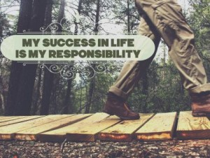 Personal Development Poster (My Success Is My Responsibility)