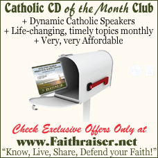 Faithraiser Catholic Media of the Month Club | Catholic CD | Catholic MP3 | Inspiring Talks | Faithraiser | Catholic Media