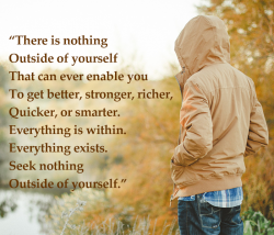 Everything Is Within