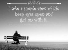 Simple View Of Life