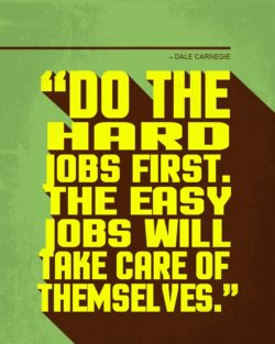 Hard Jobs and Easy Jobs by Dale Carnegie