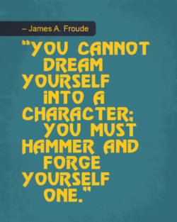 Character by James A. Froude