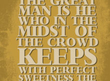 Great Man by Ralph Waldo Emerson