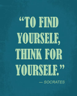 Find Yourself by Socrates