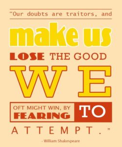 The Good We Oft Might Win by William Shakespeare