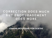 Encouragement by Johann Wolfgang Von Goethe