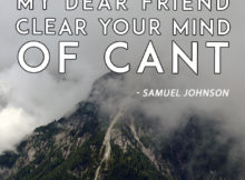 Clear Your Mind by Samuel Johnson