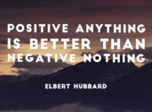 Positive Anything by Elbert Hubbard