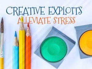 Creative Exploits Alleviate Stress by Positive Affirmations Inspirational Downloads Inspirational Quote Poster