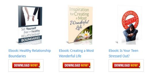 Inspiration for Creating a Most Wonderful Life Ebook