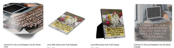 Inspirational Media Customized Products