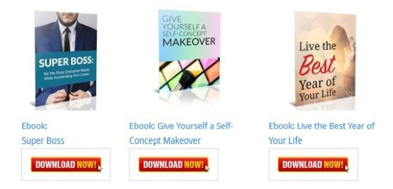 Live the Best Year of Your Life Ebook [Personal Development Blog Ebooks]