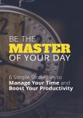 Be the Master of Your Day Inspirational Ebook