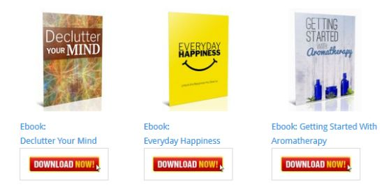 Everyday Happiness – Unlock the Happiness You Deserve Ebook [Personal Development Blog Ebooks]