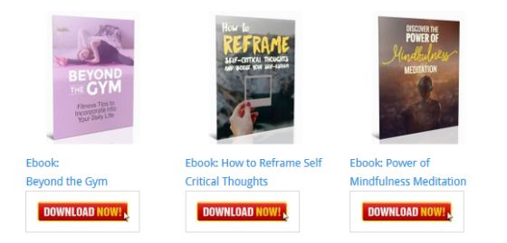 How to Reframe Self Critical Thoughts and Boost Your Self-Esteem Ebook [Personal Development Blog Ebooks]
