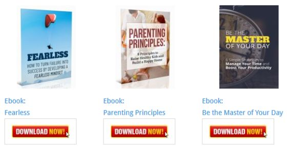 Parenting Principles Inspirational Ebook