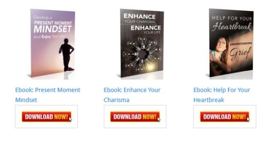 Develop a Present Moment Mindset and Enjoy Your Life Ebook [Personal Development Blog Ebooks]