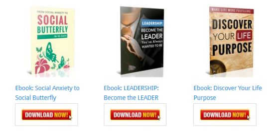 Discover Your Life Purpose Ebook [Personal Development Blog Ebooks]