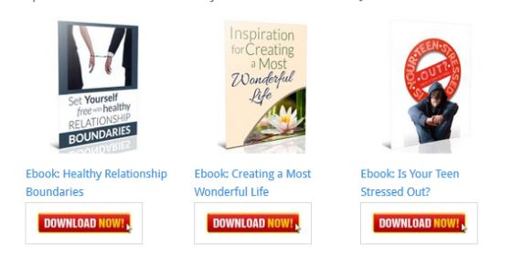 Inspiration for Creating a Most Wonderful Life Ebook [Personal Development Blog Ebooks]