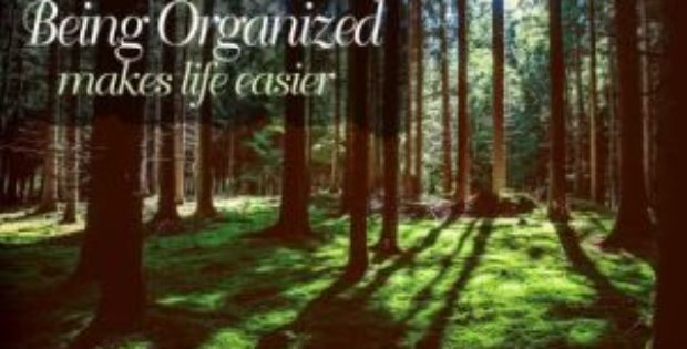 Being Organized Inspirational Quote by Inspiring Thoughts