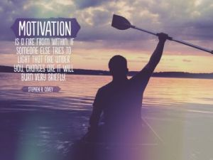 Motivation A Fire From Within Inspirational Quote by Stephen Covey