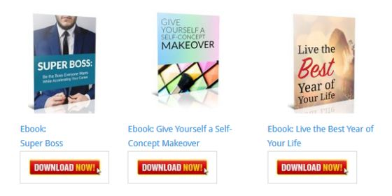 Give Yourself a Self-Concept Makeover Inspirational Ebook