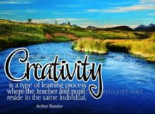Creativity Type Of Learning Process Inspirational Quote by Arthur Koestler Inspirational Poster