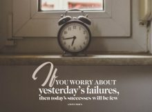 Today's Successess by an Unknown Author Inspirational Poster
