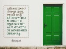 Door of Happiness by Helen Keller