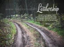 Leadership Inspirational Become The Leader Quote by Tom Landry