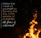 Make The Most Of Yourself Inspirational Quote by Golda Meir Inspirational Picture