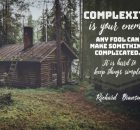 Keep Things Simple by Richard Branson Inspirational Picture