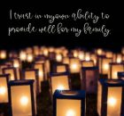 Provide Well For My Family Inspirational Quote by Inspiring Thoughts Inspirational Picture