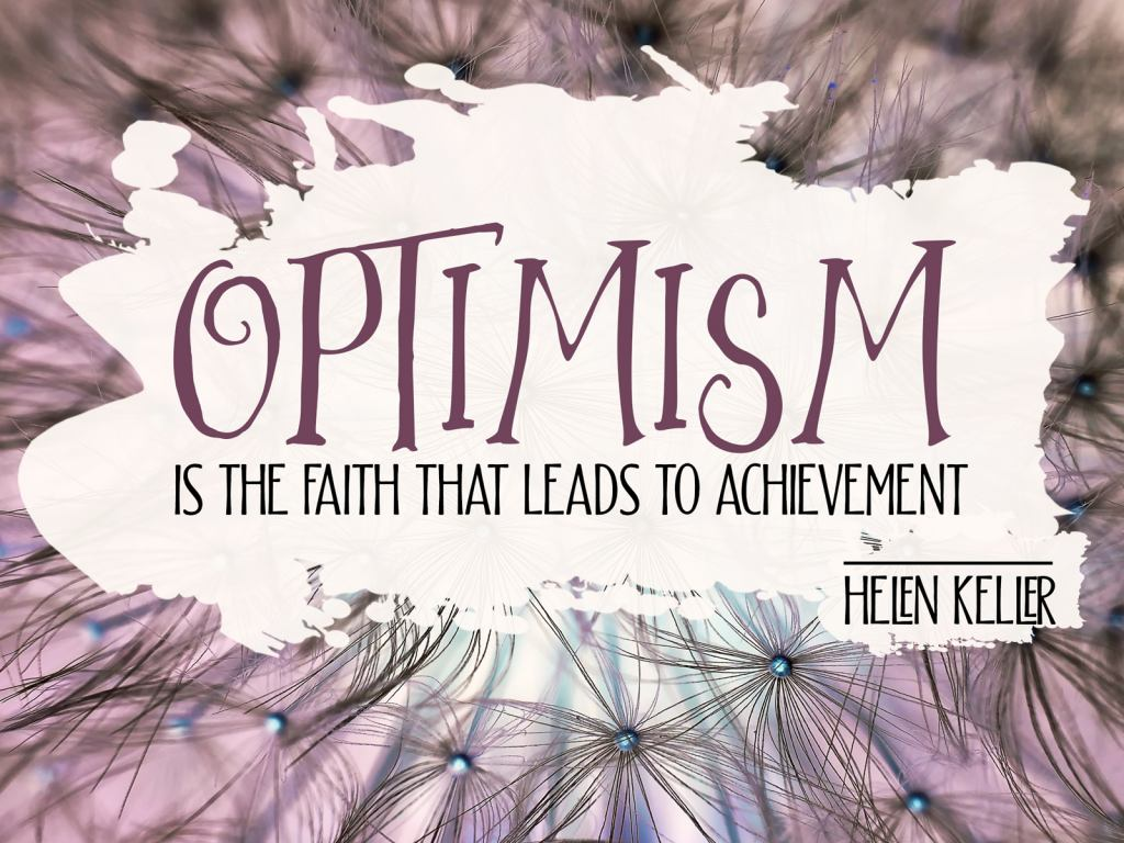 Optimism by Helen Keller 1772-Keller