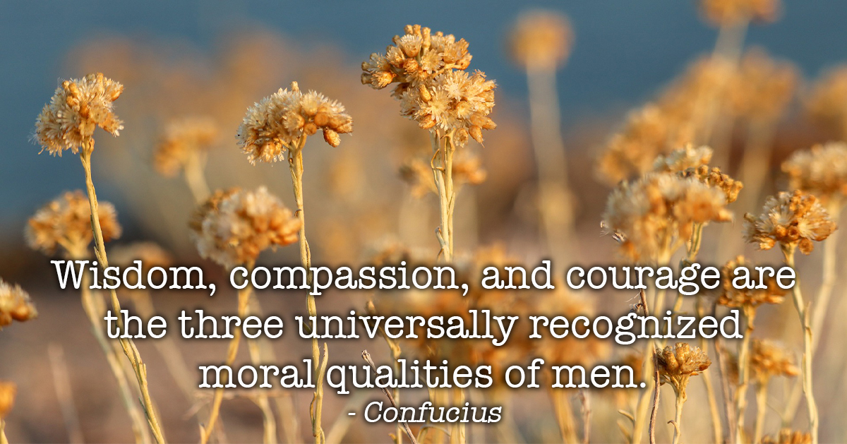 Moral Qualities of Men by Confucius - The Power of Compassion