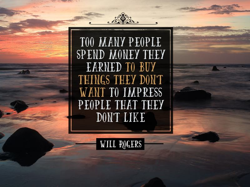 People Spend Money They Earned 1923-Rogers