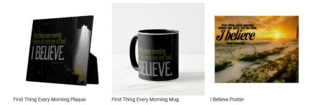First Thing Every Morning by Norman Vincent Peale Custom Products
