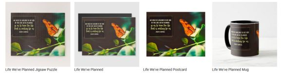 Life We Have Planned by Joseph Campbell Custom Products